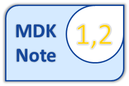 Unsere MDK Note